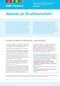 Detailanzeige: FactSheet Alkohol im Straßenverkehr (Stand: April 2017)