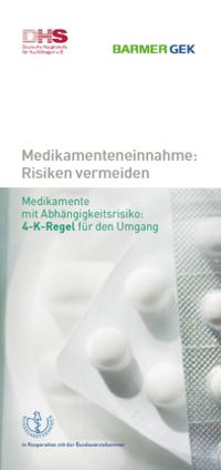 Detailanzeige: Medikamenteneinnahme: Risiken vermeiden - 4-K-Regel